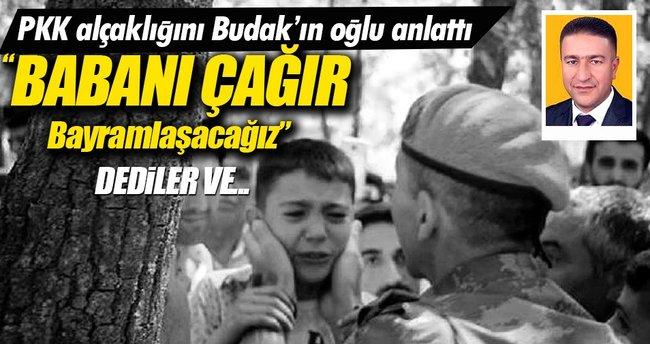 Ahmet Budak'ın oğlu alçak cinayeti anlattı