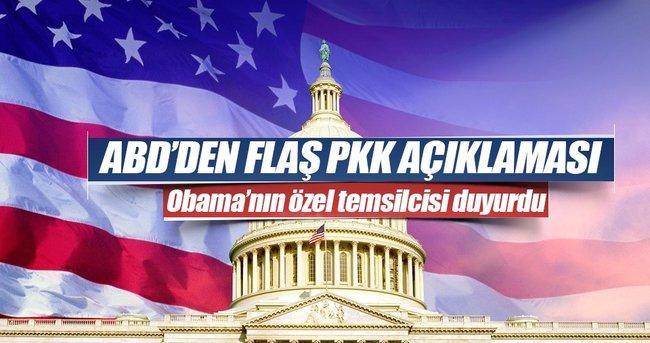ABD'DEN FLAŞ PKK AÇIKLAMASI