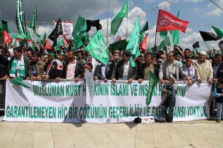 Diyarbakır'da yüzbinlerin peygamber aşkı!
