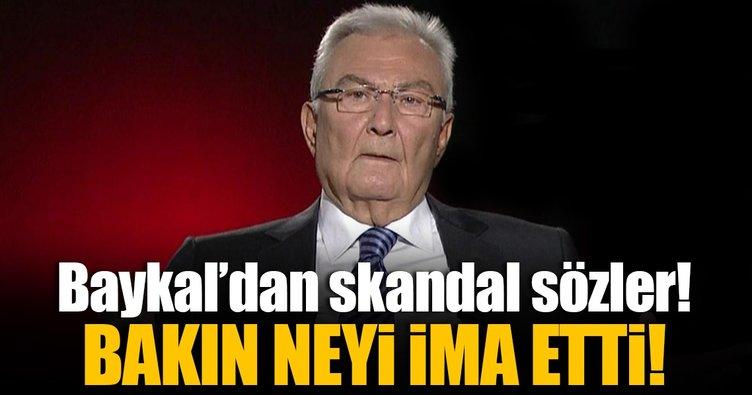 CHP'li Deniz Baykal'dan skandal sözler