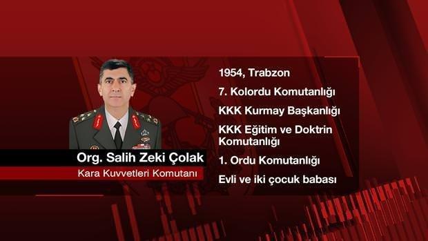 TSK'nın yeni komuta kademesi belirlendi! İşte o isimler...