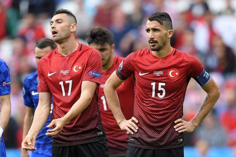Türkiye - Hırvatistan maçı sosyal medyayı salladı