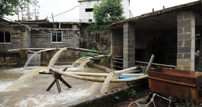 Çin'de maden ocağında su baskını