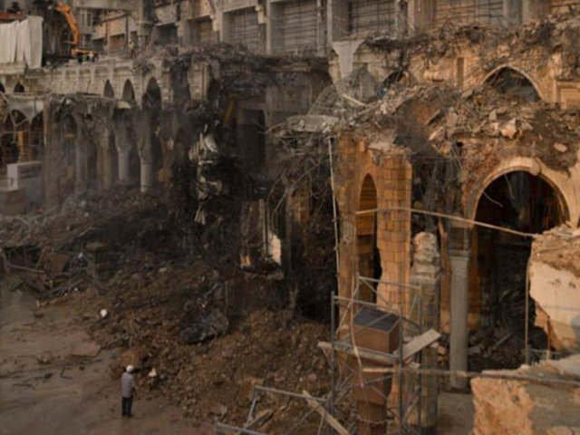 Kabe inşaatından fotoğraflar