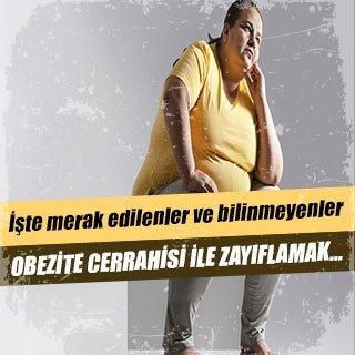 Obezite cerrahisi ile zayıflamak…