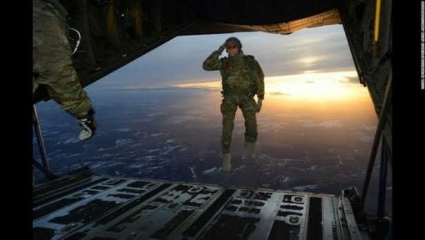 En iyi zamanda çekilmiş askeri fotoğraflar