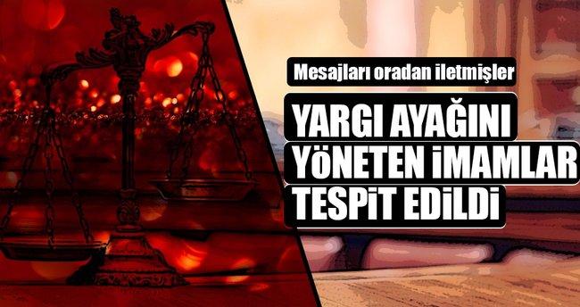 Yargı ayağını 21 sivil imam yönetmiş