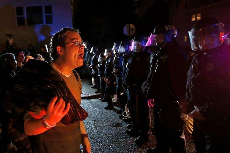 ABD'de polisi 'vuran' rapor