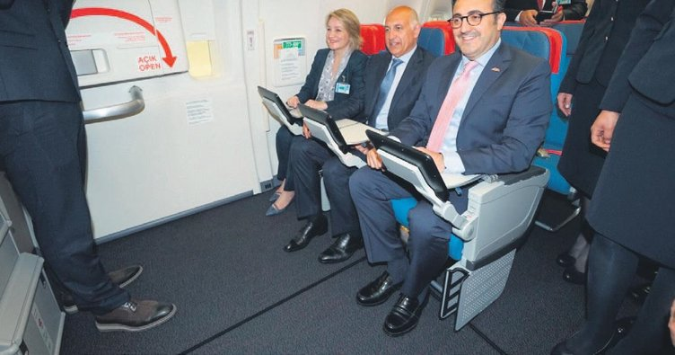 Koltuğu Türk malı ilk Boeing 777