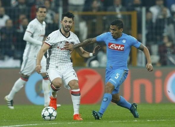 İtalyan basınında Beşiktaş-Napoli maçının analizi