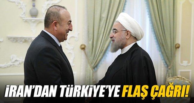 İran'dan Türkiye'ye işbirliği çağrısı