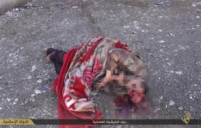 IŞİD'in şok eden görüntüleri