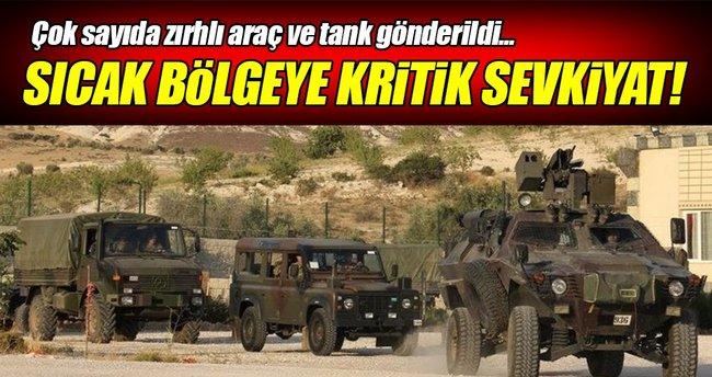 Çukurca'ya askeri sevkiyat!