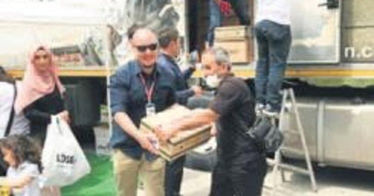 Anadolu'ya TIR dolusu yardım