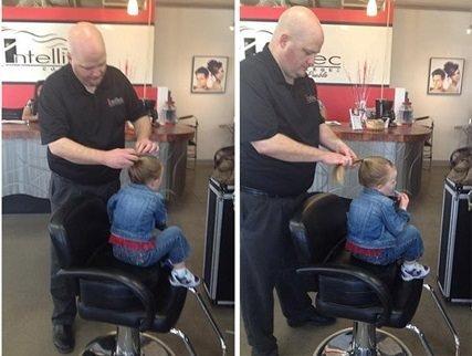 Bekar babadan inanılmaz saç modelleri