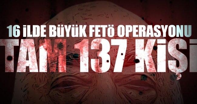 Üniversitelerde büyük FETÖ operasyonu: 137 gözaltı kararı