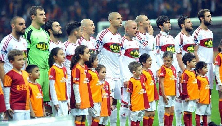 Galatasaray -Sivasspor maçından kareler