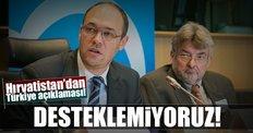 Hırvatistan, Türkiye ile müzakerelerin dondurulmasına karşı!