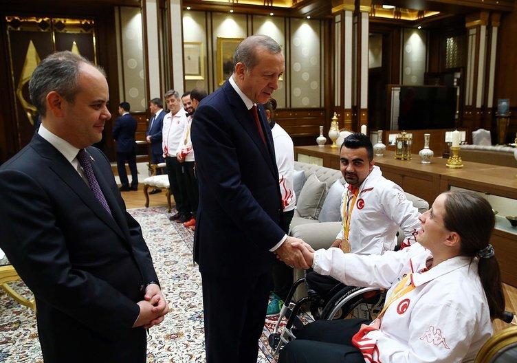 Cumhurbaşkanı Erdoğan'dan sürpriz kabul!