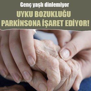 Uyku bozukluğu Parkinsona işaret ediyor!