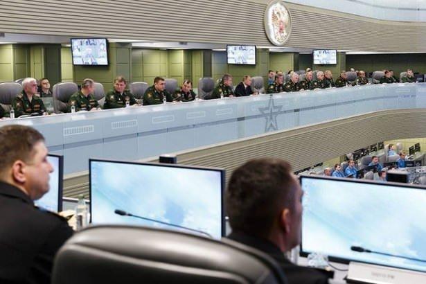 Putin'in savaş odası