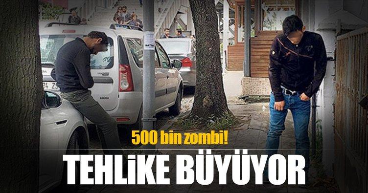 Tehlike giderek büyüyor! Sokaklarda 500 bin zombi...