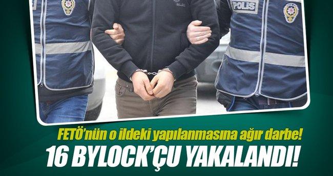 Rize'deki FETÖ operasyonunda 16 Bylock'cu yakalandı!