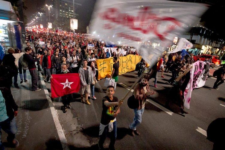 Brezilya sokakta