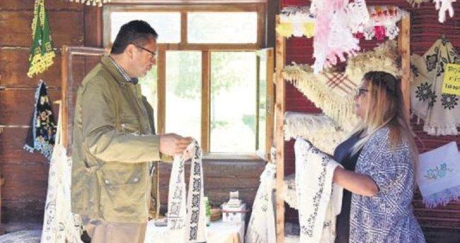 Başkan Tiryaki hünerlerini gösterdi