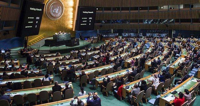 ABD ve İsrail'den BM'de bir ilk