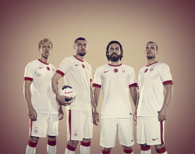 İşte Galatasaray'ın formaları!