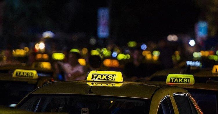 Taksi fişleri takibe alınıyor