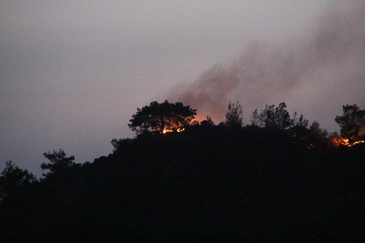 Yangın giderek büyüyor