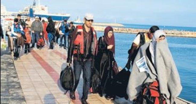 Sığınmacılar son anda kurtarıldı