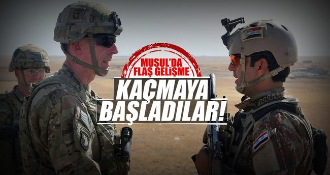 'DEAŞ liderleri Musul'u terk etmeye başladı'
