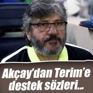 Reşit Akçay'dan Fatih Terim'e destek