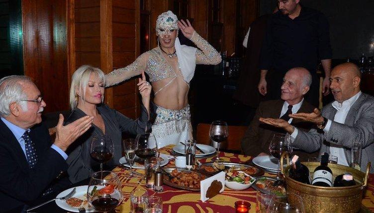Semiramis'ten sürpriz kutlama