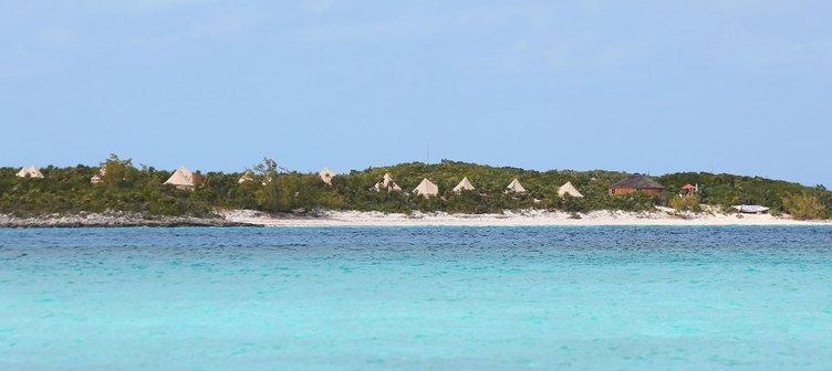 Düğünleri bu güzel adada gerçekleşti