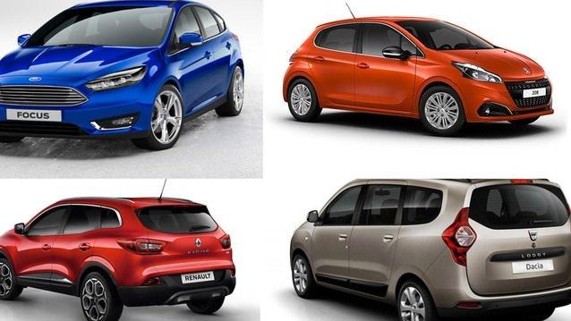 Yılın en çok satan otomobil markaları