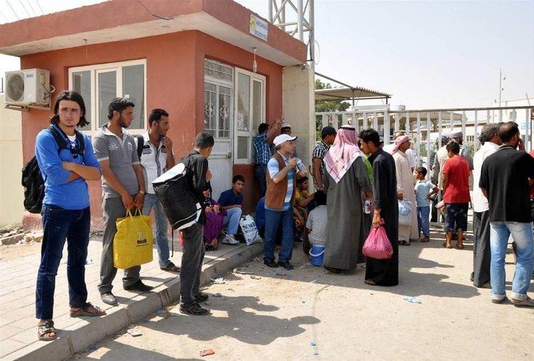 Suriyeliler evlerine dönüyor