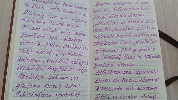 Erdoğan için umrede 'Benim ömrümden al ona ver' diye dua etmiş