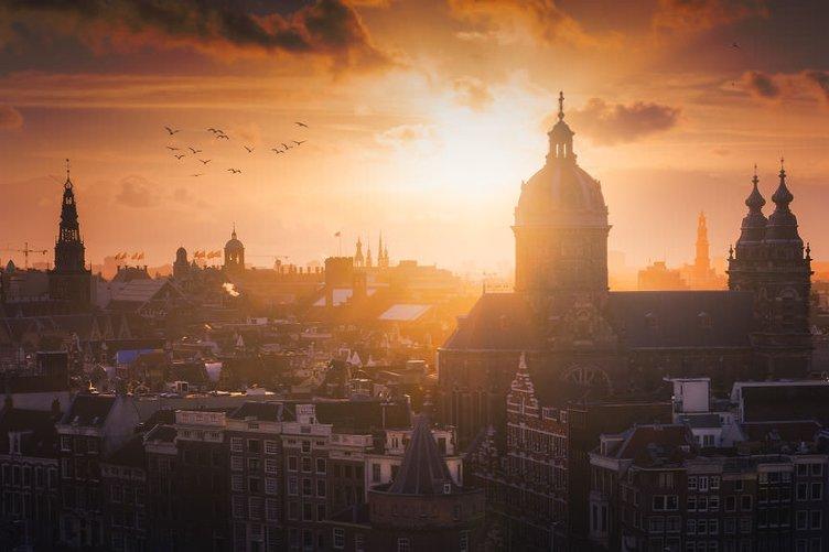 Hollanda'dan muhteşem kareler