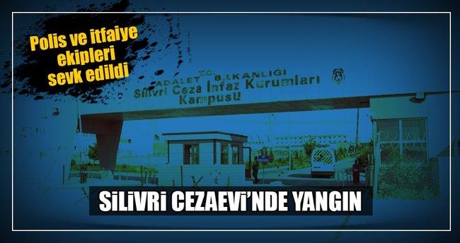 Silivri Cezaevi'ne itfaiye ve polis ekipleri yönlendirildi