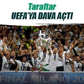 Taraftar, UEFA'ya dava açtı