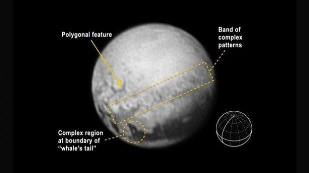 Plüton'un uydusudaki esrarengiz nokta