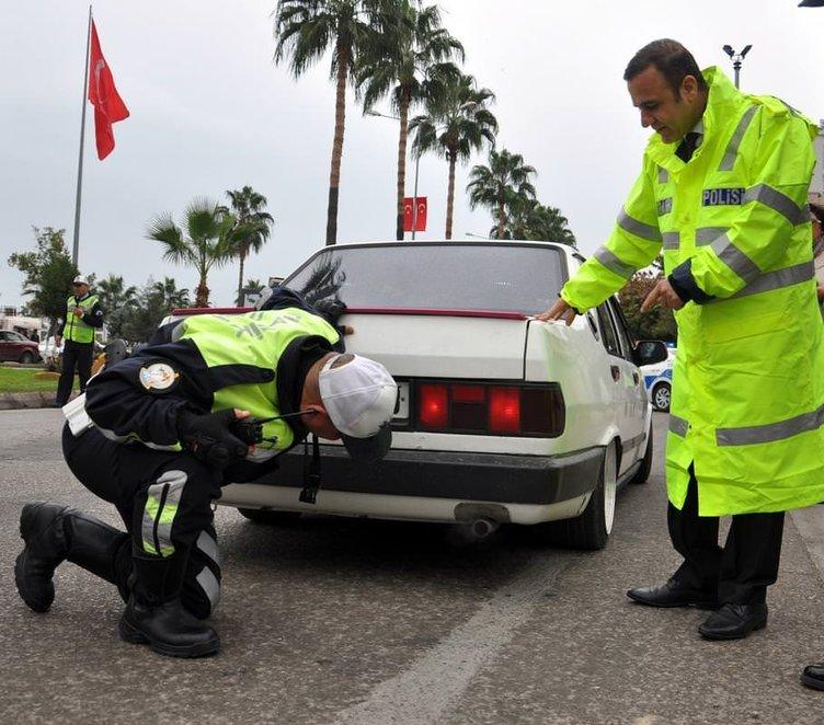Polisten 'egzoz' operasyonu