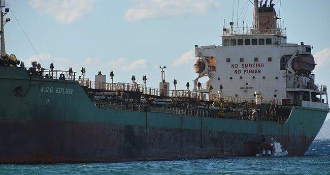 Aliağa'da tanker karaya oturdu
