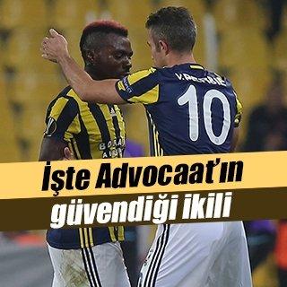Fenerbahçe'nin gol ayakları Van Persie ve Emenike