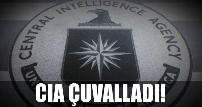 CIA çuvalladı