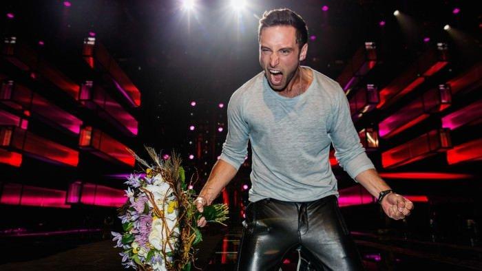 Eurovision'un galibi Zelmerlöw'e fotoğraf tepkisi